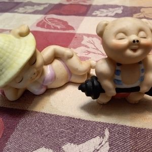 ⭐Vintage⭐ Enesco Figurines